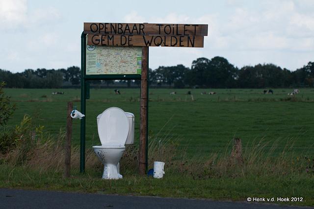 Openbaar toilet.