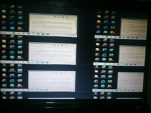 SOLVED] Laptop screen divided into six mini screens - graphics card