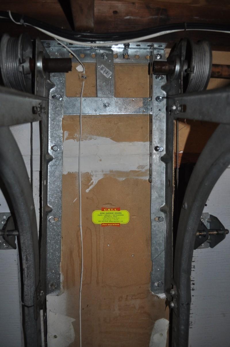 Tension Rod With Screen Door : Garage door tension rod is shifting