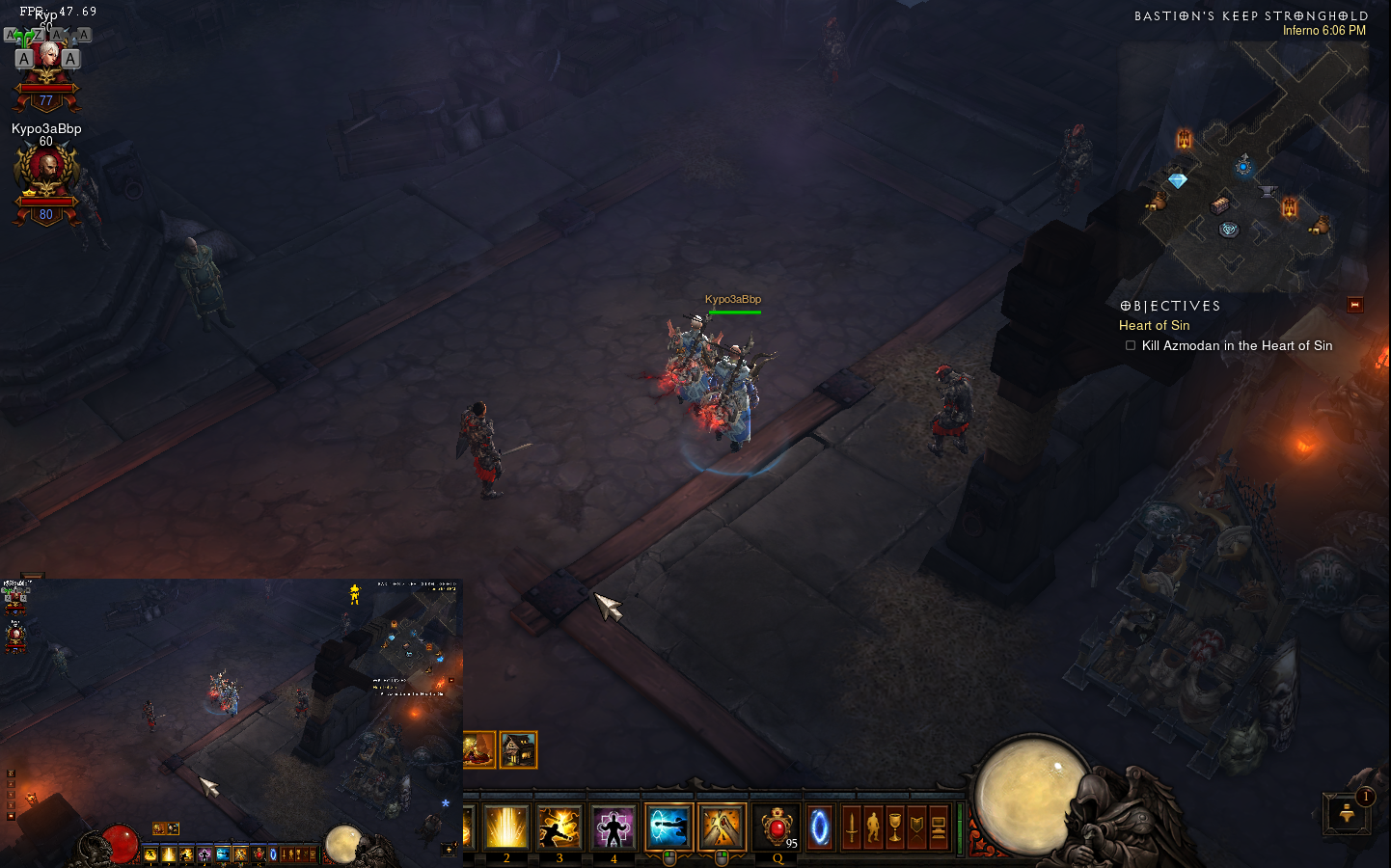diablo 3 how to change mouse cursor