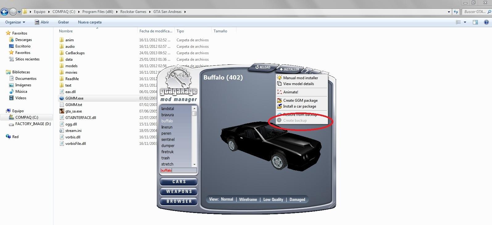 TUTORIAL] How to install car mods with GGMM - Scripting & Modding