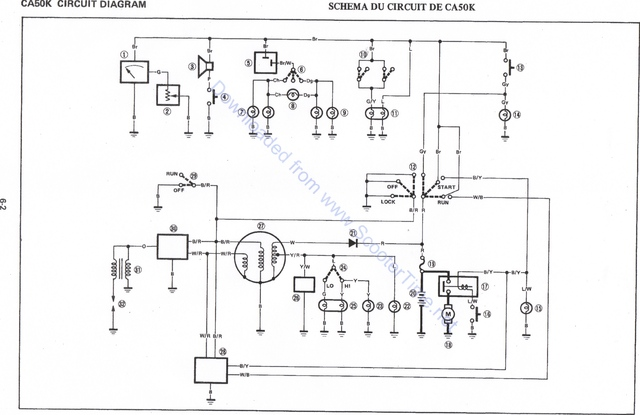 Motorcycle cdi wiring diagram wiring diagram and schematic design yamaha cdi wiring scooter professor sciox Choice Image