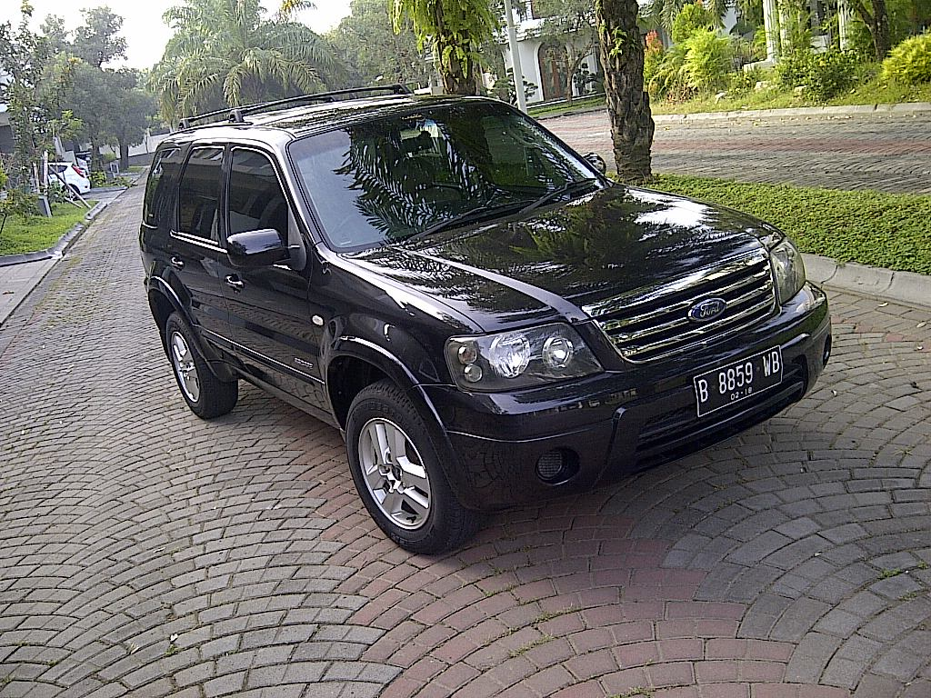 Wts ford escape 2 3at 08 07 new model hitam istw