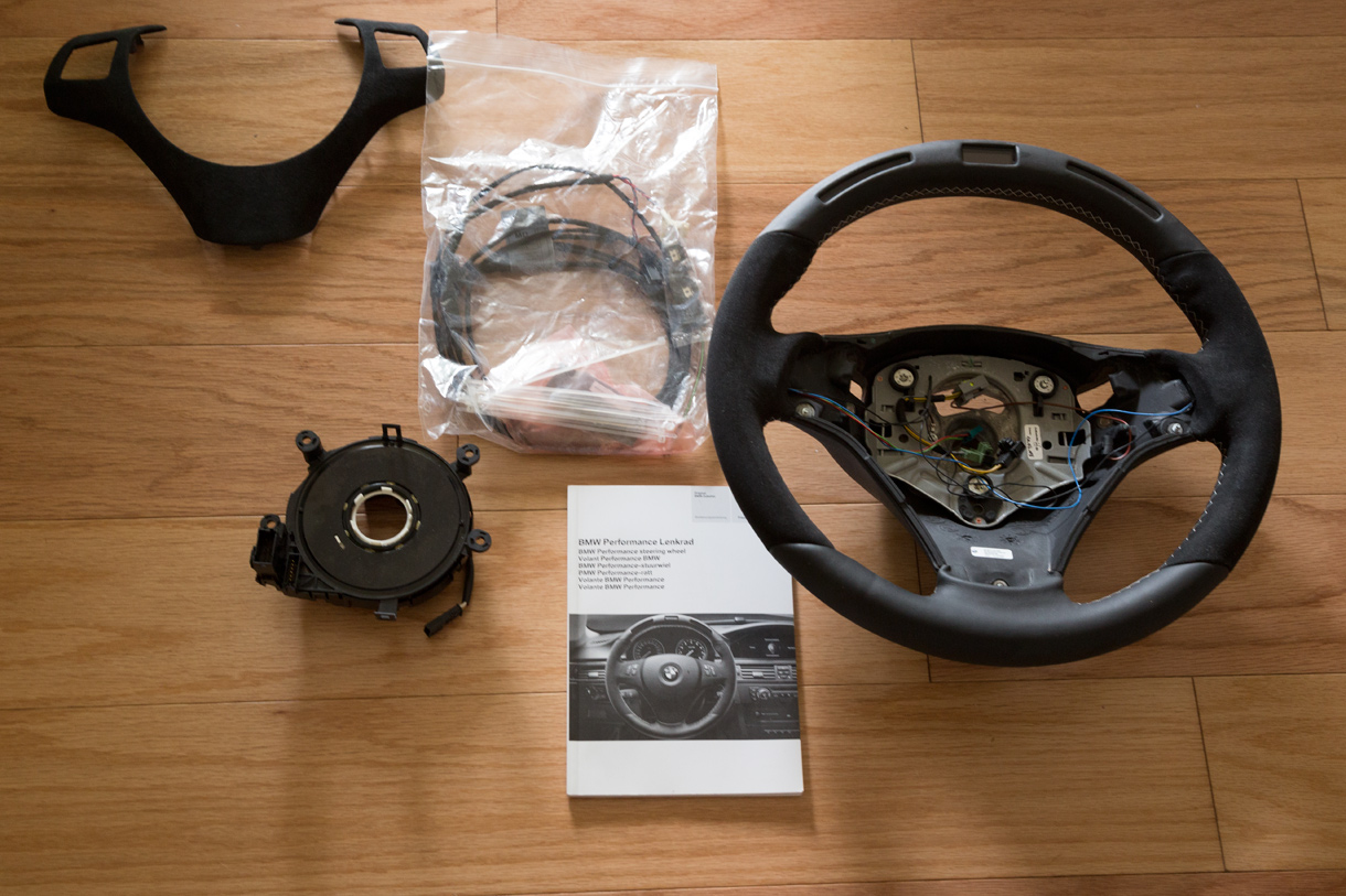 Brand New Bmw Performance V1 Electronic Steering Wheel