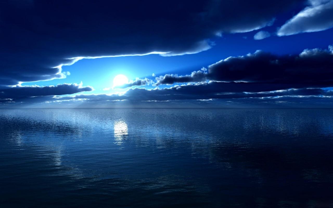 Dark Blue Sky Background: Beißen Gedanken: DARK BLUE WALLPAPERS