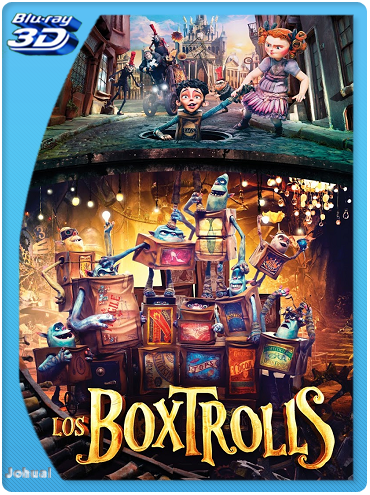 Los Boxtrolls (2014) 3D SBS BRRip 1080p Español Latino