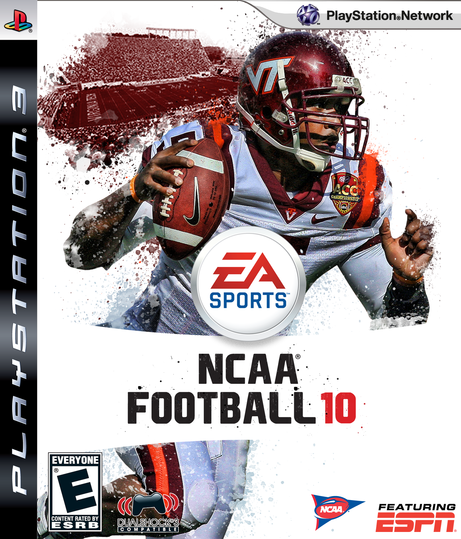 NCAA Football 10 Custom Cover Gallery and Template - Page ...