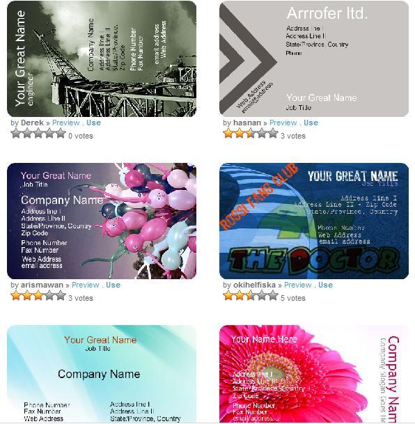 realiza tu tarjeta de presentación online zonaselecta