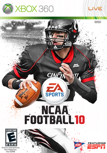 Ncaa football 10 custom cover gallery and template