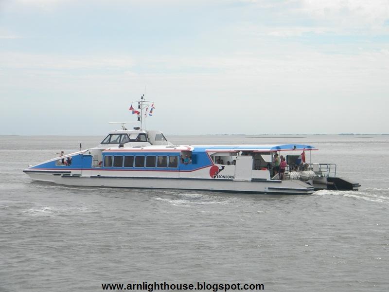 varen er vandaag boten naar schiermonnikoog