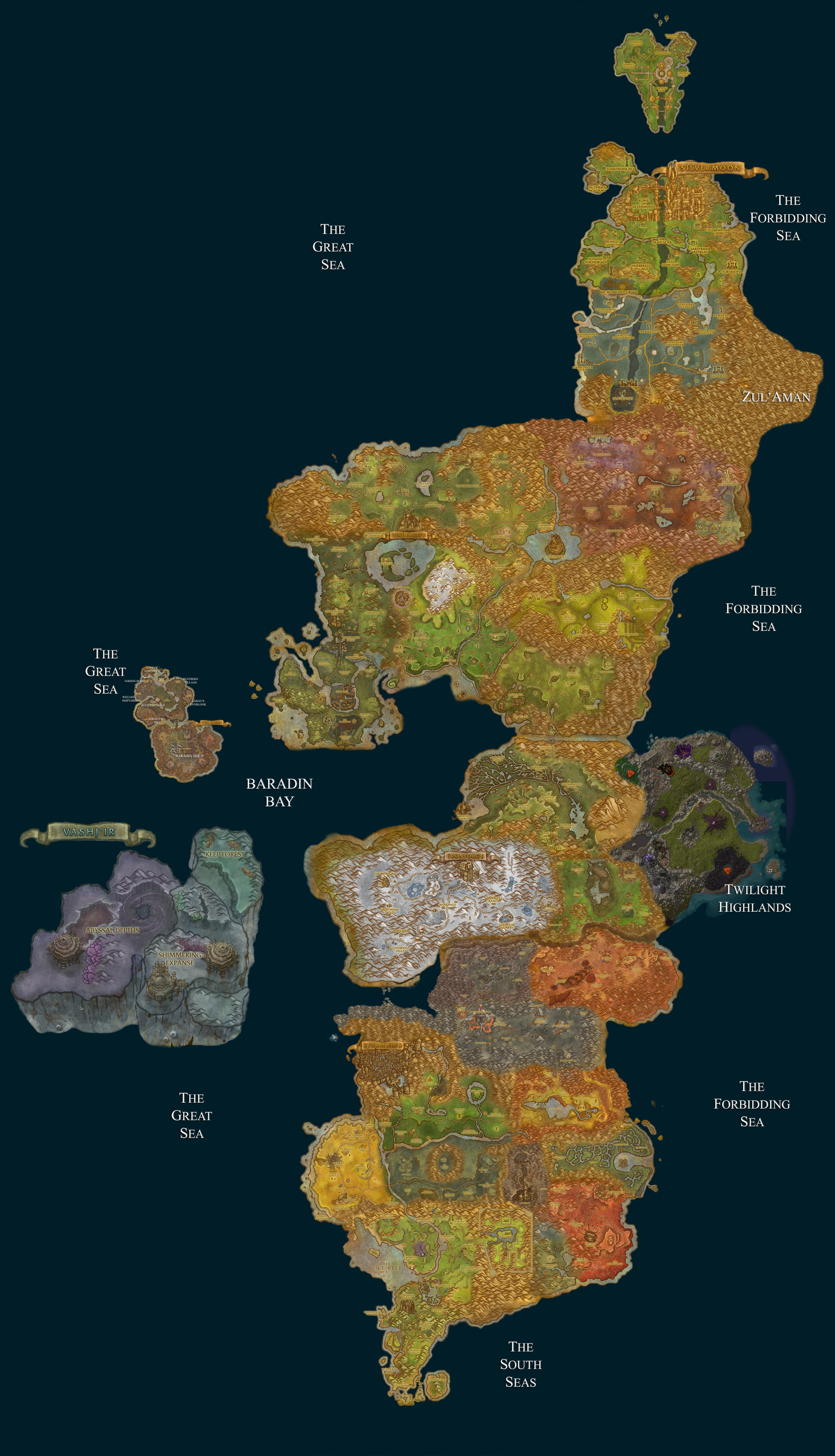 Cataclysm maps compilation archive scrolls of lore forums gumiabroncs Images