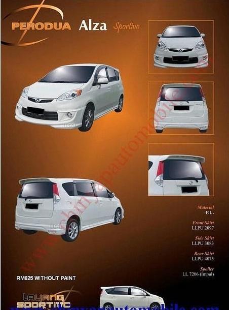 Perodua ALZA bodykits  - Page 3 4181156
