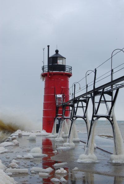 Snow Lake Effect Michigan - Gennaio 2010 4331216