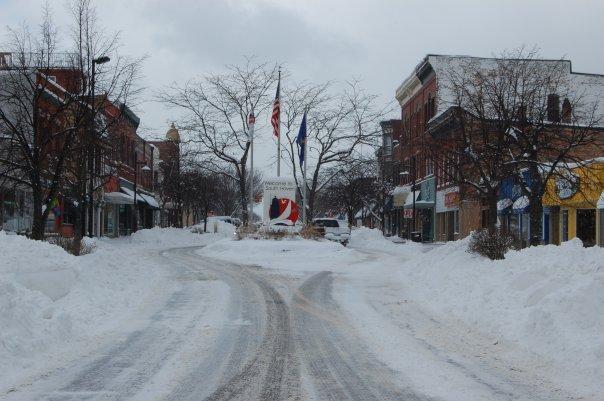Snow Lake Effect Michigan - Gennaio 2010 4331226