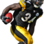 Steelers Rashard Mendenhall... - NFL Players render cuts!
