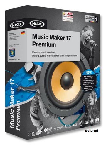 MAGIX Music Maker 17 Premium v 17.0.2.6
