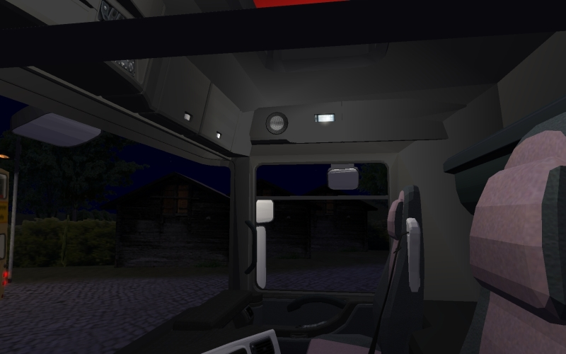 Renault Magnum 500DXi Cabin-light