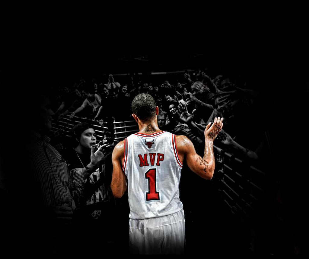 Derrick Rose MVP Wallpaper Source24Designs