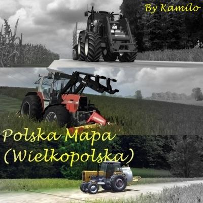Polska Mapa (Wielkopolska)