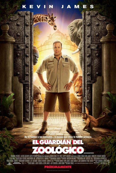 El Guardián del Zoológico (Zookeeper) [DVDRip] [Español Latino] [2011]