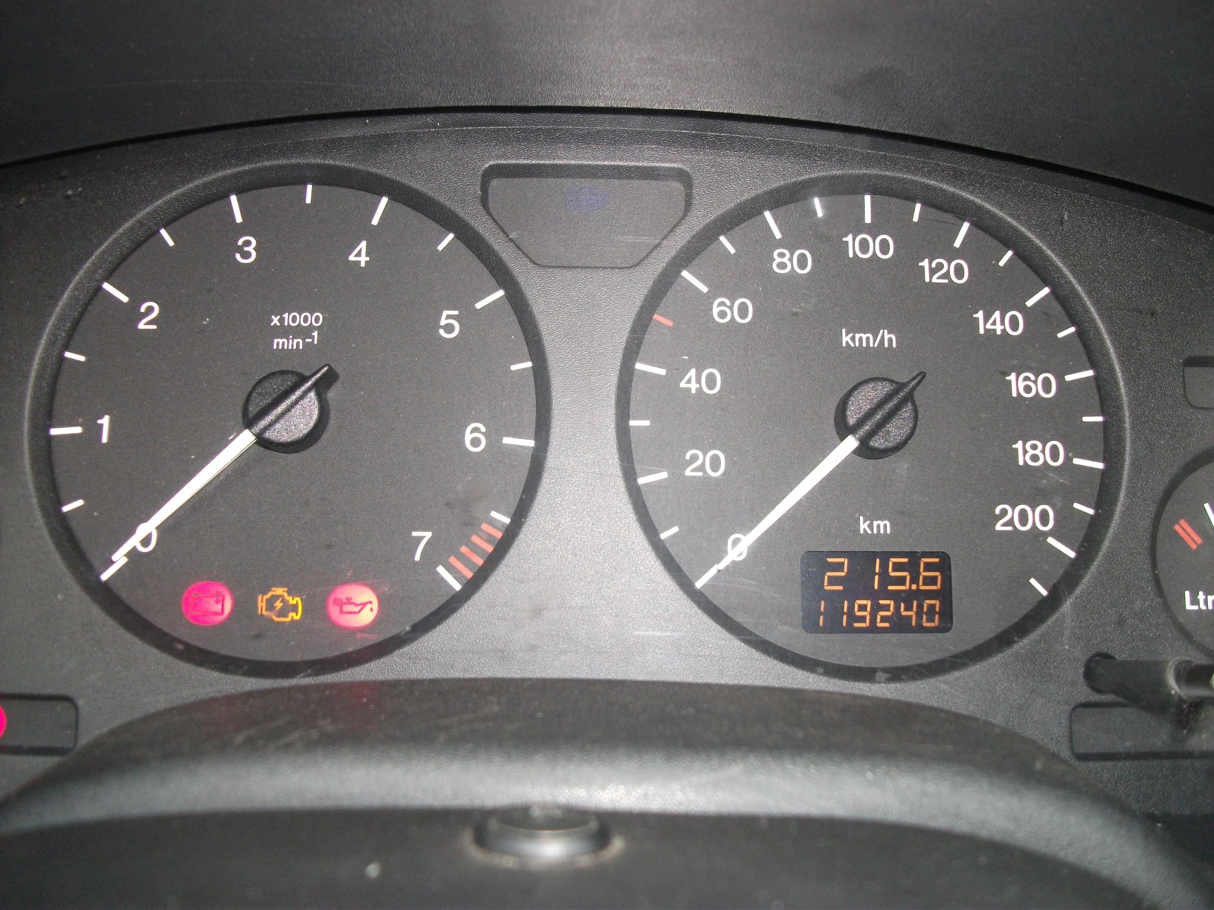 Verkeerde Aanduiding Tellerbak Astra G Opel Forum