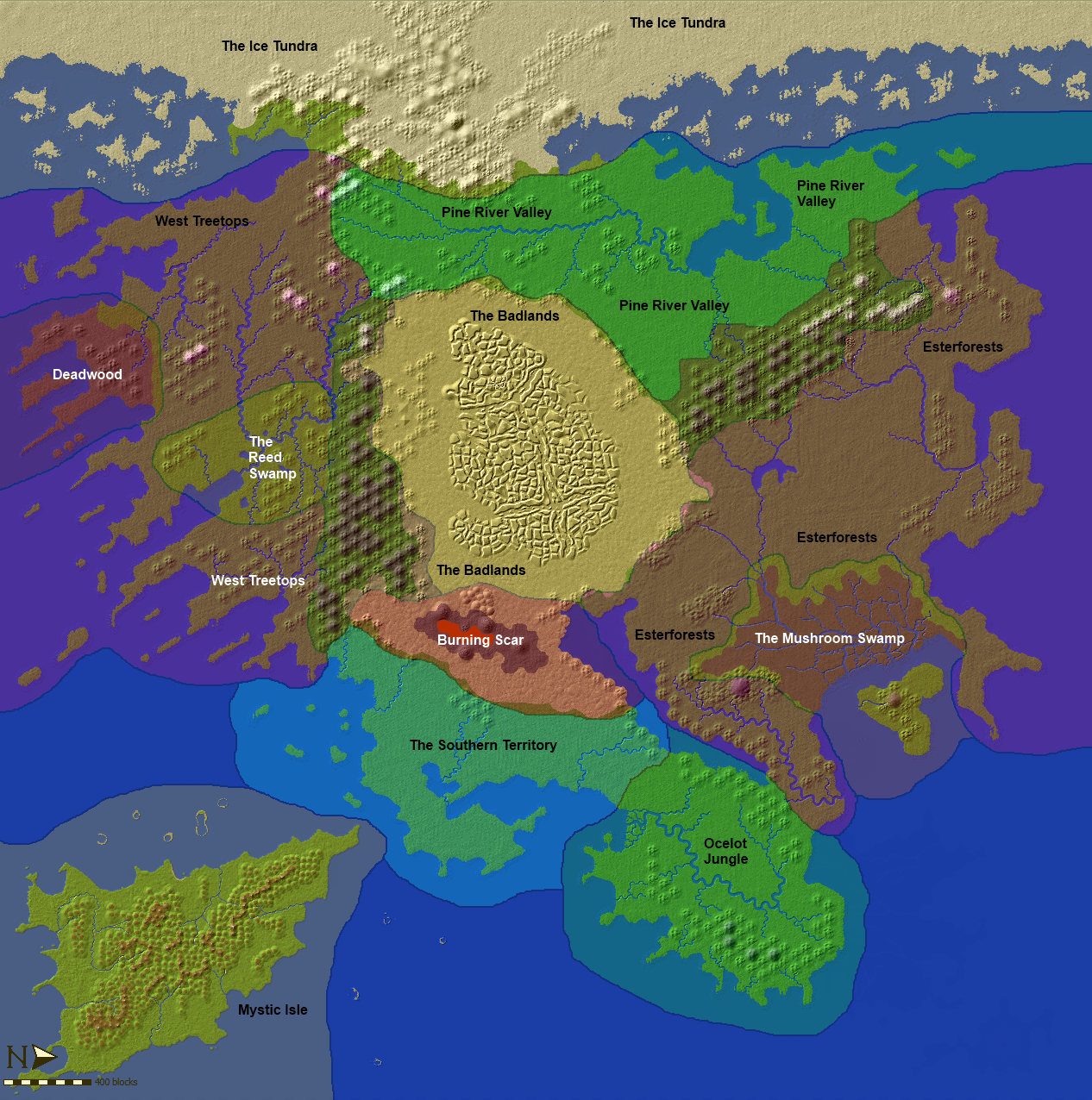 The Epic World 26KM^2 of custom [Terrain] (22K downloads) - Maps ...
