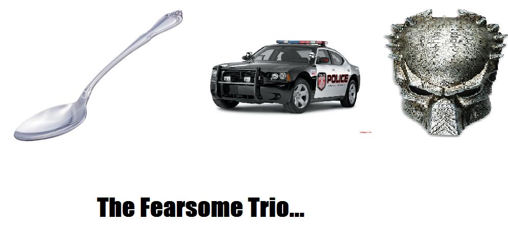The Fearsome trio -