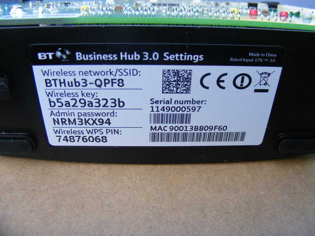 Solved: Re: FirmWare Upgrade? - BT Business …