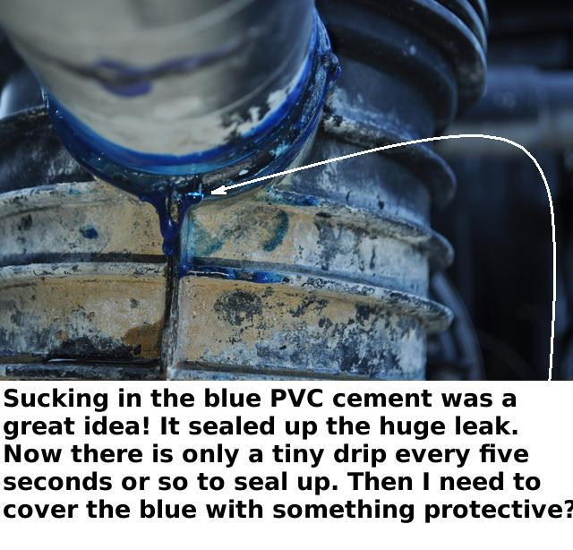 Better Ideas For Fixing Leak Right At The Pool Pump Inlet