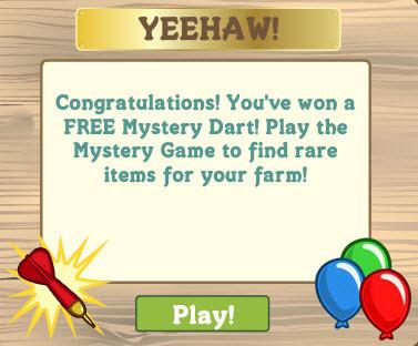 8363186 Free Mystery Dart & Pig O Token!