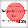 Nintendo E3 Bingo!! FocusOn3rdParty3DSMarked