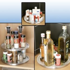 Draaiplateau voor kruiden ontwerp keuken accessoires - Hoe je een centrum eiland keuken te maken ...
